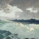 Frederick Waugh, The Ocean, oil on canvas, 39 1/2 x 39 1/2 inches